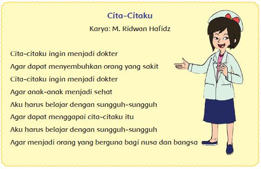 Puisi Cita - Cita Kelas 4