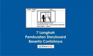 7 Langkah Pembuatan Storyboard, Beserta Contohnya