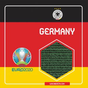 Twibbon Euro 2020 German