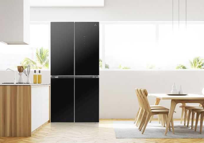 Rekomendasi Kulkas 4 Pintu yang Mewah dan Elegan