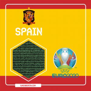 Twibbon euro 2020 spanyol