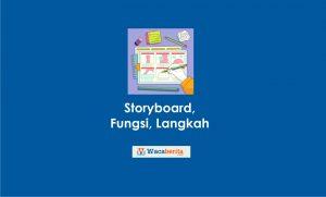 Storyboard, Fungsi, Langkah