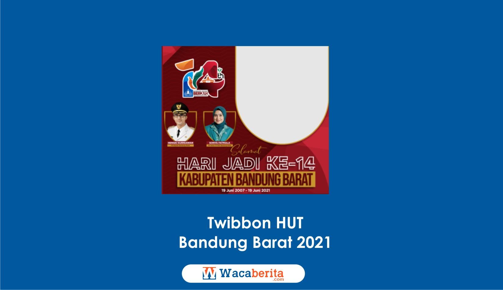 Twibbon HUT Bandung Barat 2021
