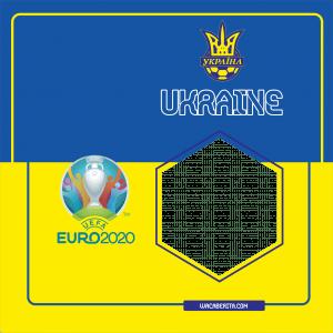 Twibbon Euro 2020 Ukraina